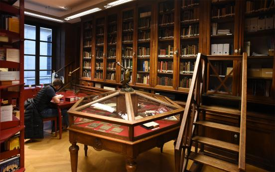 La bibliothèque historique