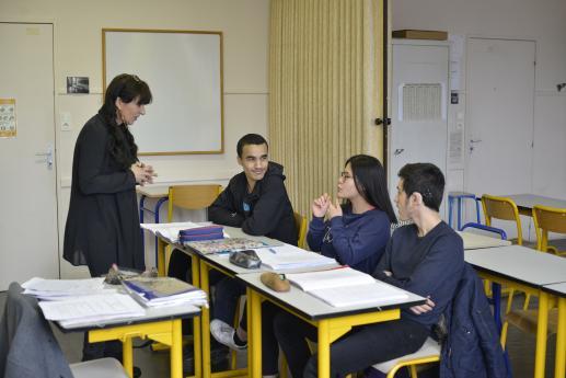 Collège Rodin - Enseignement général - Cours de Français