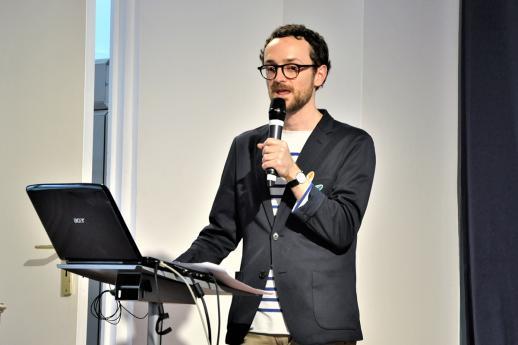 Nicolas Blanc, juriste du pôle Défense des enfants.