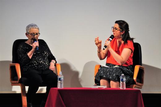 Échange entre Marie-Anne Sallandre et Agnès Millet