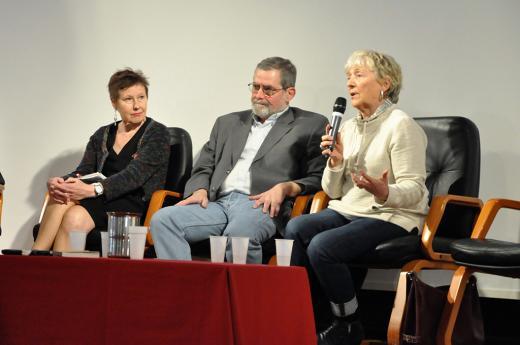 Jacqueline Kribié-Chaumeil, Didier Donstetter et Claire Eugène