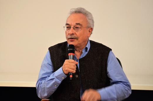 Alexis Karacostas, animateur de la soirée.