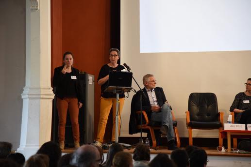 Annie Risler, maître de conférence, linguistique des langues signées, Université Lille3