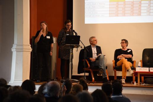 Marie-Anne Sallandre, professeur, linguistique des Langues des Signes, Université Paris8