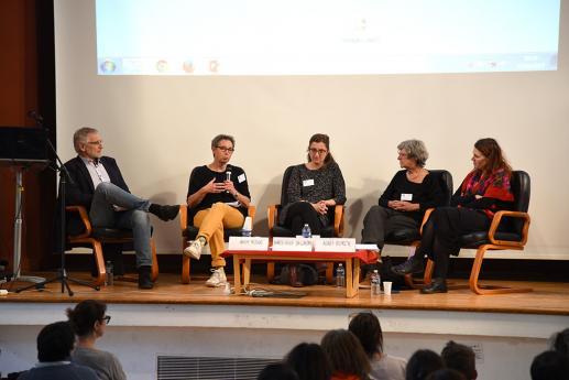 José Dobrzalovski, Annie Risler, Marie-Anne Sallandre, Agnès Vour'ch et Caroline Bogliotti