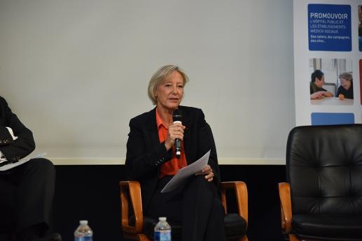 Mme Sophie Cluzel, Secrétaire d'Etat en charge des personnes handicapées, aux Universités d'été de la FHF.