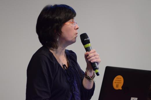 Annelies Braffort, directrice de recherche au CNRS