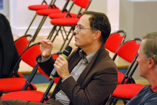 """Frédéric Brossier, directeur de projet """"partenariats et innovations""""."""