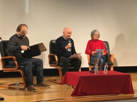Yann Cantin, Jean-François Dutheil et Luizette Carliez