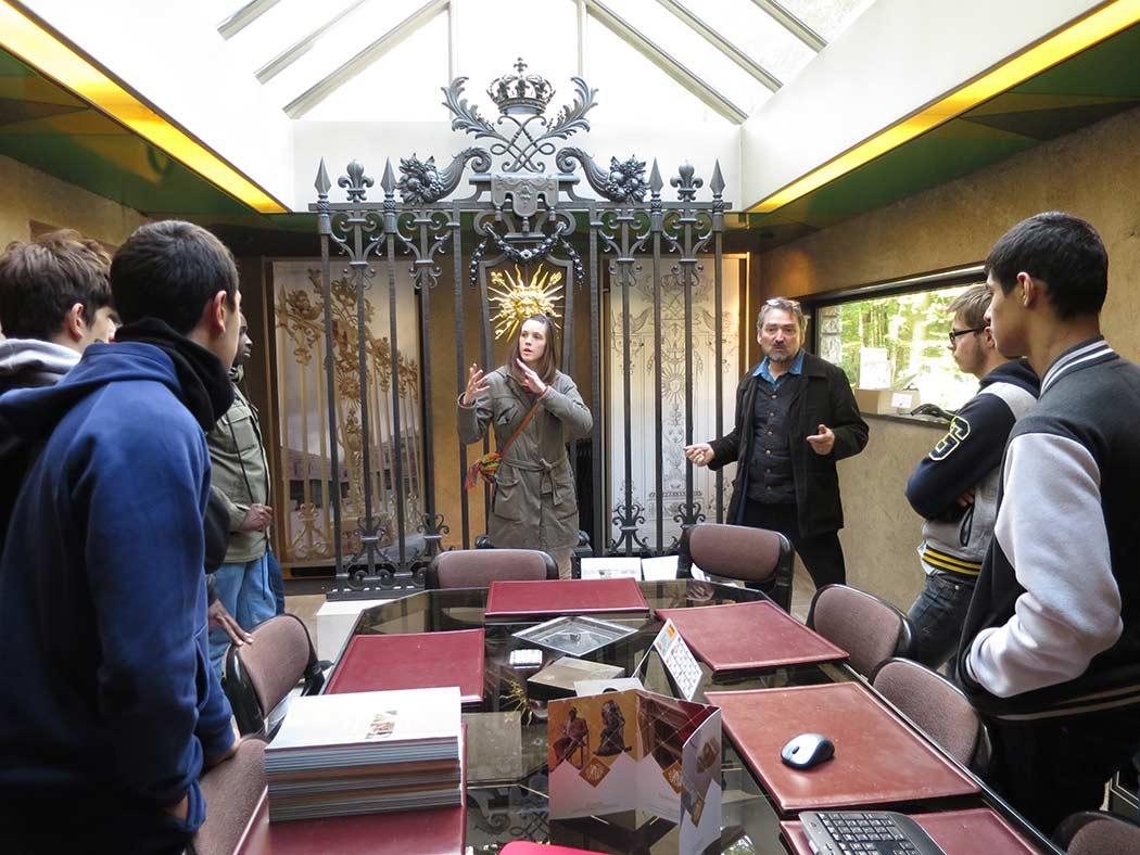 visite de l injs la fondation de coubertin injs paris. Black Bedroom Furniture Sets. Home Design Ideas